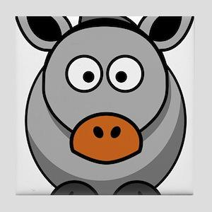 Grey Donkey Tile Coaster