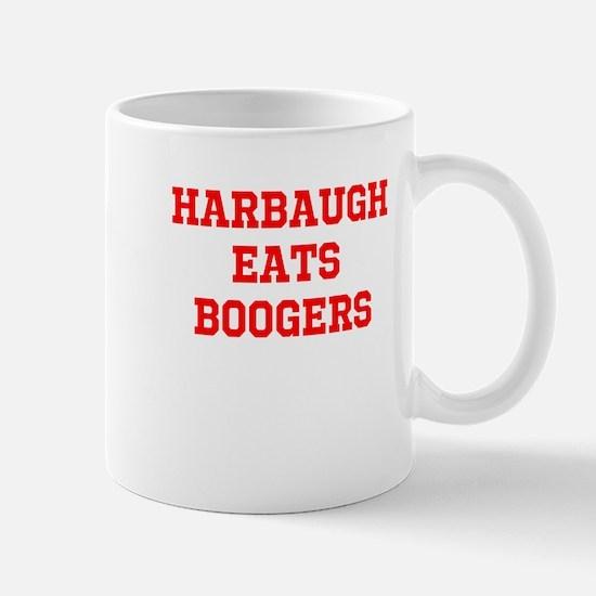 harbaugh eats boogers Mugs