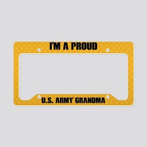 U.S. Army Grandma License Plate Holder