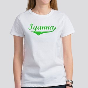 Iyanna Vintage (Green) Women's T-Shirt