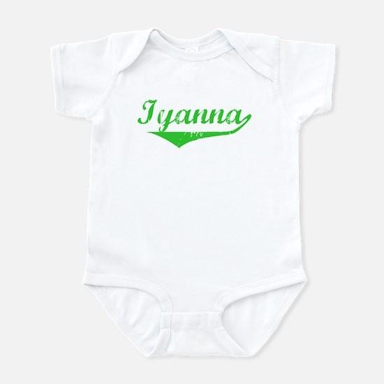 Iyanna Vintage (Green) Infant Bodysuit
