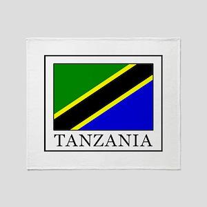 Tanzania Throw Blanket