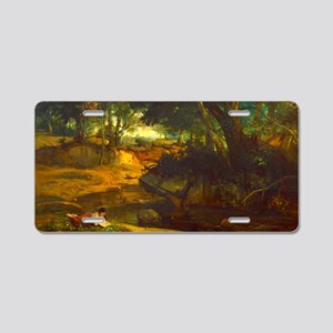 Forest of Fountainbleau by Corot Aluminum License