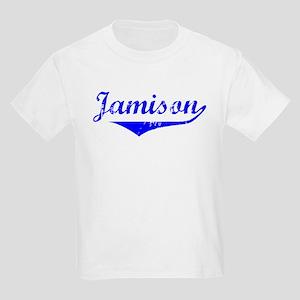 Jamison Vintage (Blue) Kids Light T-Shirt