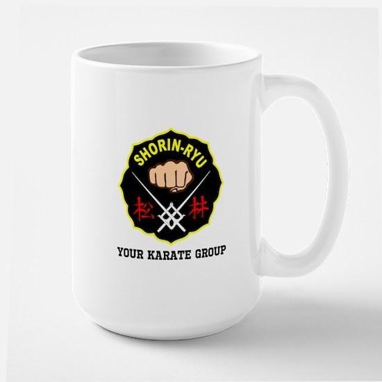 SHORIN RYU PERSONALIZED Large Mug