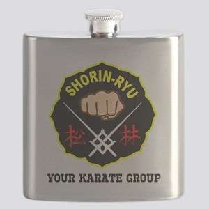 SHORIN RYU PERSONALIZED Flask