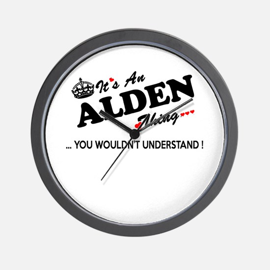 Cute Alden Wall Clock