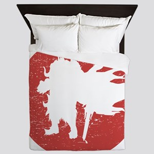Stressed Dark Knight Male Queen Duvet