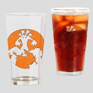 Stressed Druid Drinking Glass