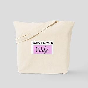 DAIRY FARMER Wife Tote Bag