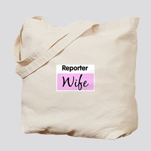Reporter Wife Tote Bag