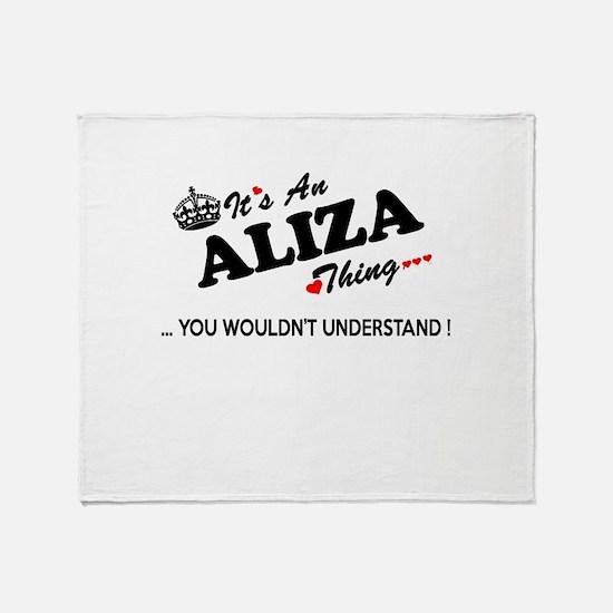 Unique Aliza Throw Blanket