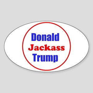 Donald Jackass Trump Sticker