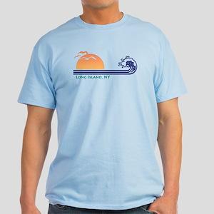 Long Island NY Light T-Shirt