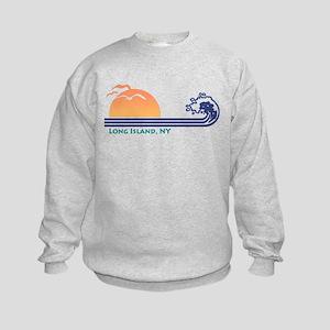 Long Island NY Kids Sweatshirt