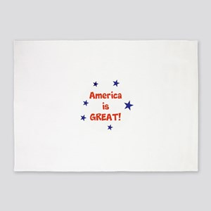 America is great 5'x7'Area Rug