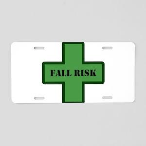 Green Fall Aluminum License Plate