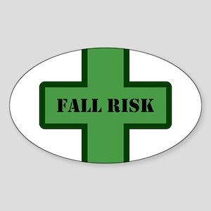 Green Fall Sticker