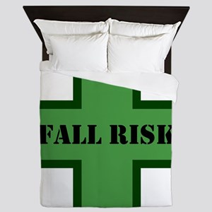 Green Fall Queen Duvet