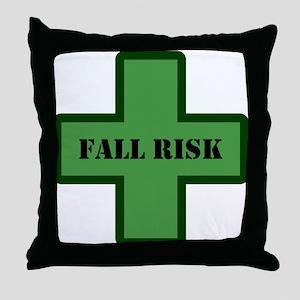 Green Fall Throw Pillow