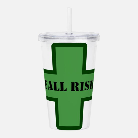 Green Fall Acrylic Double-wall Tumbler