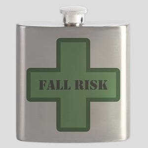 Green Fall Flask