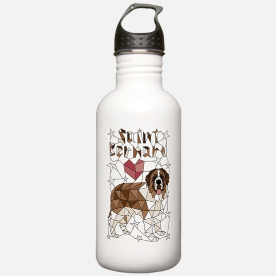 Cool St bernard Water Bottle