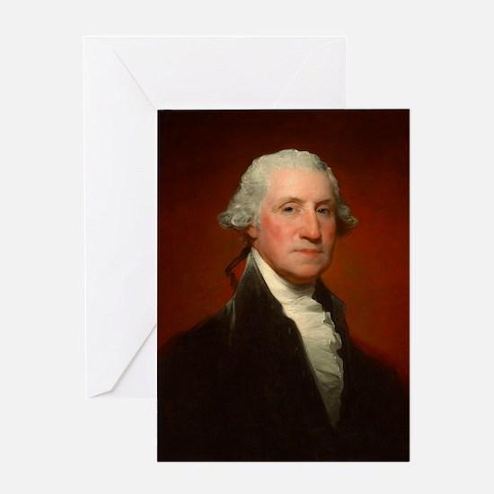 Portrait of George Washington by Gilbert Stuart Gr