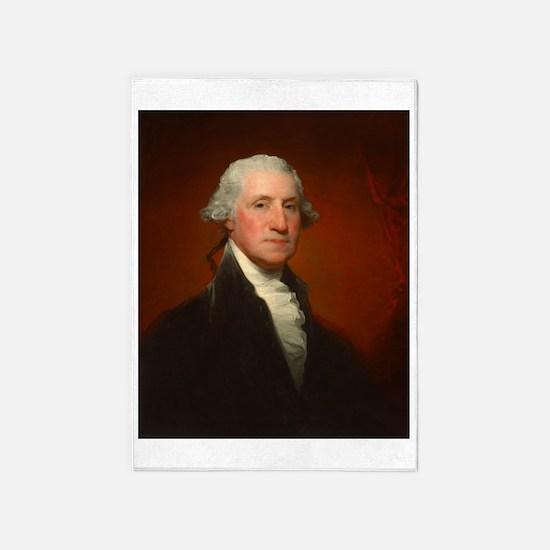 Portrait of George Washington by Gilbert Stuart 5'