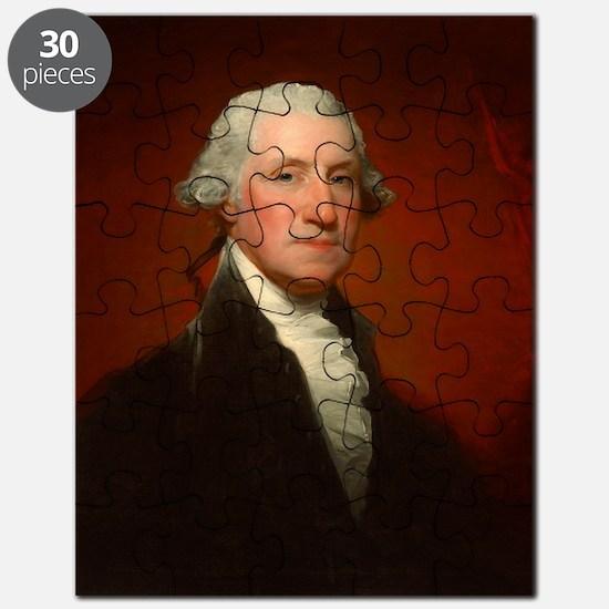 Portrait of George Washington by Gilbert Stuart Pu
