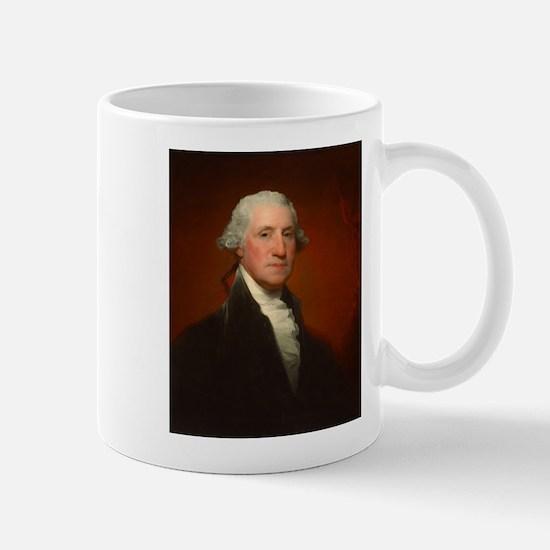 Portrait of George Washington by Gilbert Stuart Mu