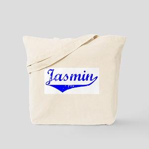 Jasmin Vintage (Blue) Tote Bag