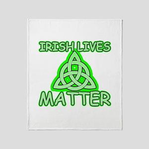 Irish lives matter Throw Blanket