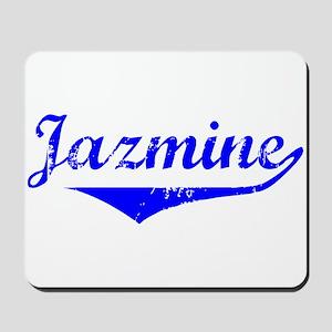 Jazmine Vintage (Blue) Mousepad