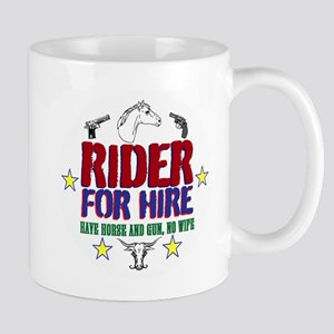 Rider for Hire Mugs