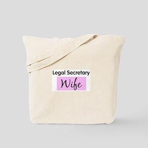 Legal Secretary Wife Tote Bag