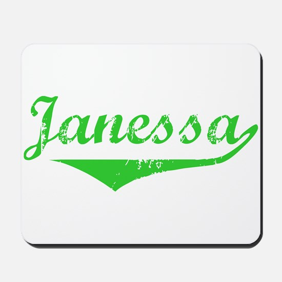 Janessa Vintage (Green) Mousepad