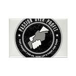 POP Logo B&W Magnets