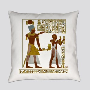 Seti I and Ramesses II Everyday Pillow