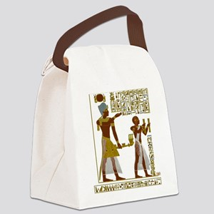 Seti I and Ramesses II Canvas Lunch Bag