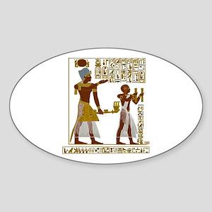 Seti I and Ramesses II Sticker