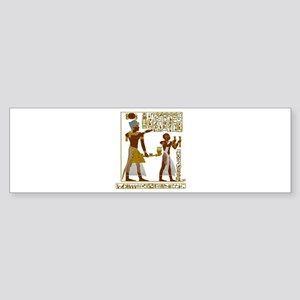 Seti I and Ramesses II Bumper Sticker