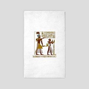 Seti I and Ramesses II Area Rug