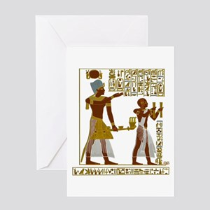 Seti I and Ramesses II Greeting Cards