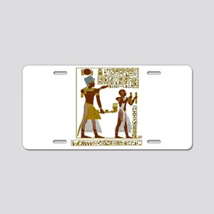 Seti I and Ramesses II Aluminum License Plate
