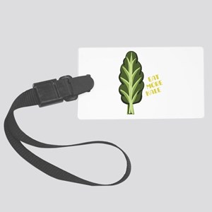 Eat More Kale Luggage Tag