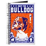 Obey the English Bulldog! Propaganda Journal