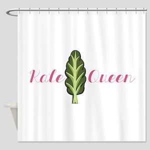 Kale Queen Shower Curtain
