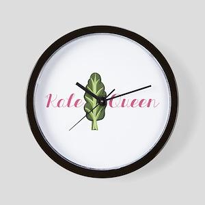 Kale Queen Wall Clock