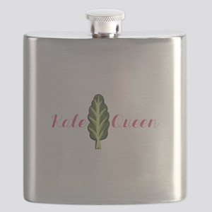 Kale Queen Flask